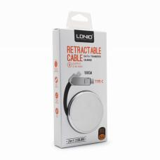 Data kabl LDNIO LC90C Type C/micro USB srebrni 1m