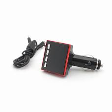 FM transmiter CMP-007, bluetooth, USB, punjac crveni