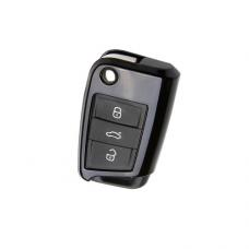 Zastitno kuciste za Auto kljuc Volkswagen Golf / Seat / Skoda crni