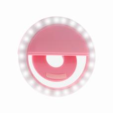 Selfie Ring Light XJ-01 pink