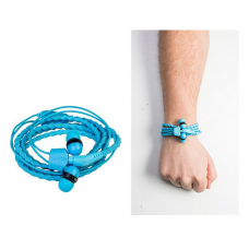 Slusalice + narukvica Wristbond svetlo plave