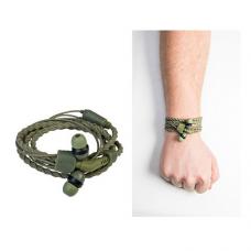 Slusalice + narukvica Wristbond zelene