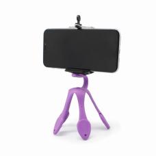 Stalak za mobilni tripod fleksibilni ljubicasti