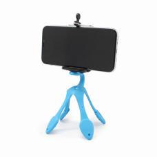 Stalak za mobilni tripod fleksibilni plavi