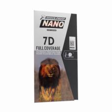 Tempered glass 7D full Nano za Huawei Honor 8X crni