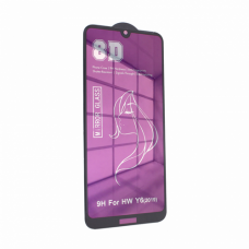 Tempered glass Mirror 8D 9H Huawei Y6 2019 ljubicasta