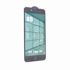 Tempered glass Mirror 8D 9H iPhone 6/6S zelena