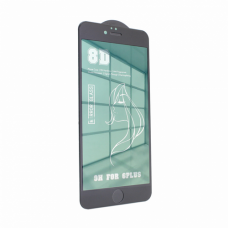 Tempered glass Mirror 8D 9H iPhone 6 plus/6S plus zelena