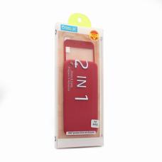 Futrola + Tempered glass Coblue za iPhone 6/6S crvena