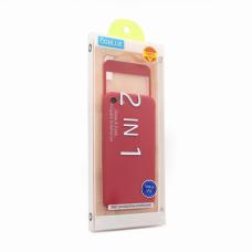 Futrola + Tempered glass Coblue za iPhone 7/8 crvena