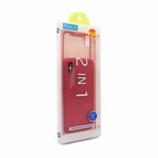 Futrola + Tempered glass Coblue za iPhone X/XS crvena