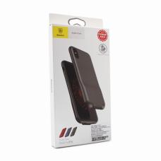 Futrola Baseus 2u1 audio+charge za iPhone X crna