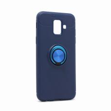 Futrola Becation za Samsung A600F Galaxy A6 2018 plava + plavi holder/auto stalak