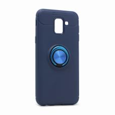 Futrola Becation za Samsung J600F Galaxy J6 2018 (EU) plava + plavi holder/auto stalak