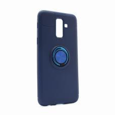 Futrola Becation za Samsung J810F Galaxy J8 2018 (EU) plava + plavi holder/auto stalak