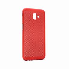 Futrola Breathe mat za Samsung J610FN Galaxy J6 Plus crvena