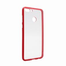 Futrola Clear Cover za Huawei Y9 2018 crvena