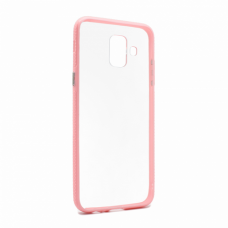 Futrola Clear Cover za Samsung A600F Galaxy A6 2018 roze