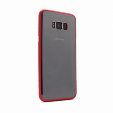 Futrola Clear Cover za Samsung G955 S8 plus crvena
