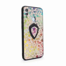 Futrola Colorful Star za Huawei Honor 10 lite/P smart 2019 + holder srebrna