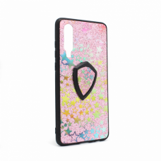 Futrola Colorful Star za Huawei P30 + holder pink