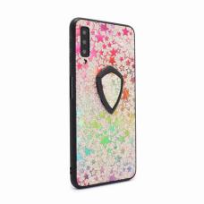 Futrola Colorful Star za Samsung A750FN Galaxy A7 2018 + holder srebrna