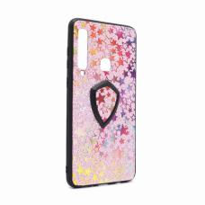 Futrola Colorful Star za Samsung A920F Galaxy A9 2018 + holder pink