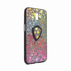 Futrola Colorful Star za Samsung J610FN Galaxy J6 Plus + holder crna