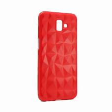 Futrola Diamond cut za Samsung J610FN Galaxy J6 Plus crvena