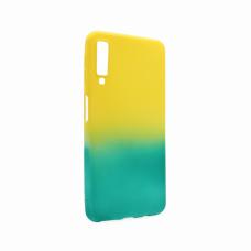 Futrola Double summer vibe za Samsung A750FN Galaxy A7 2018 zeleno-zuta