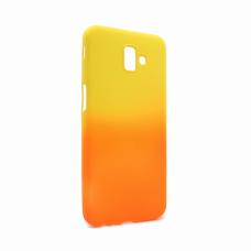 Futrola Double summer vibe za Samsung J610FN Galaxy J6 Plus narandzasto-zuta