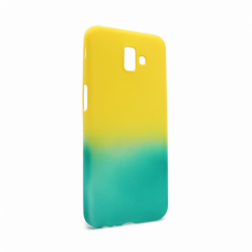 Futrola Double summer vibe za Samsung J610FN Galaxy J6 Plus zeleno-zuta