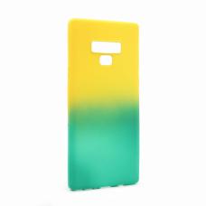 Futrola Double summer vibe za Samsung N960 Note 9 zeleno-zuta