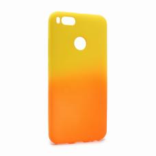 Futrola Double summer vibe za Xiaomi Redmi A1/5X narandzasto-zuta