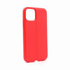 Futrola Elegant men Exclusive za  iPhone XI 5.8 crvena