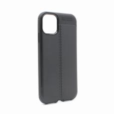 Futrola Elegant men Exclusive za  iPhone XI 6.1 crna
