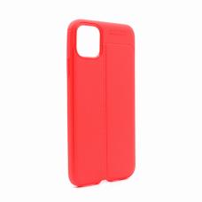 Futrola Elegant men Exclusive za  iPhone XI 6.5 crvena