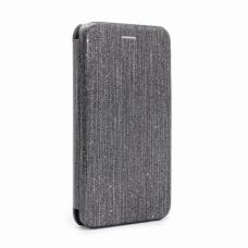 Futrola Flip Crystal za Huawei P30 Lite crna
