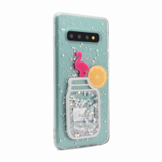 Futrola Fluid Flamingo za Samsung G973 S10 type 4