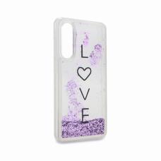 Futrola Fluid Love za Huawei P30 ljubicasta
