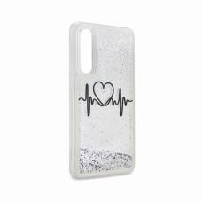 Futrola Fluid Love za Huawei P30 srebrna