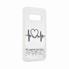 Futrola Fluid Love za Samsung G970 S10e srebrna