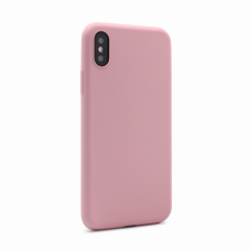 Futrola Gel rubber za iPhone X roze