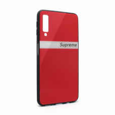 Futrola GLASS Supreme za Samsung A750FN Galaxy A7 2018 crvena