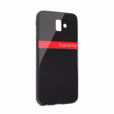 Futrola GLASS Supreme za Samsung J610FN Galaxy J6 Plus crna