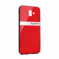 Futrola GLASS Supreme za Samsung J610F Galaxy J6 Plus crvena