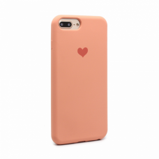 Futrola Heart za iPhone 6 plus /7 plus /8 plus  narandzasta