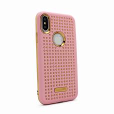 Futrola Hot Dots za iPhone X roze