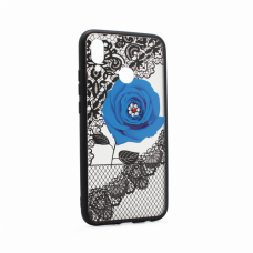 Futrola Lace Flower za Huawei P20 Lite plava