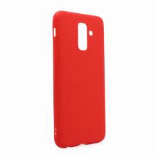 Futrola Leather Look za Samsung A605G Galaxy A6 Plus 2018 crvena
